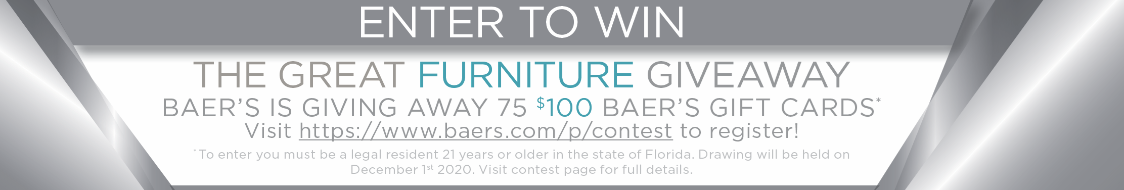 Great Furniture Giveaway