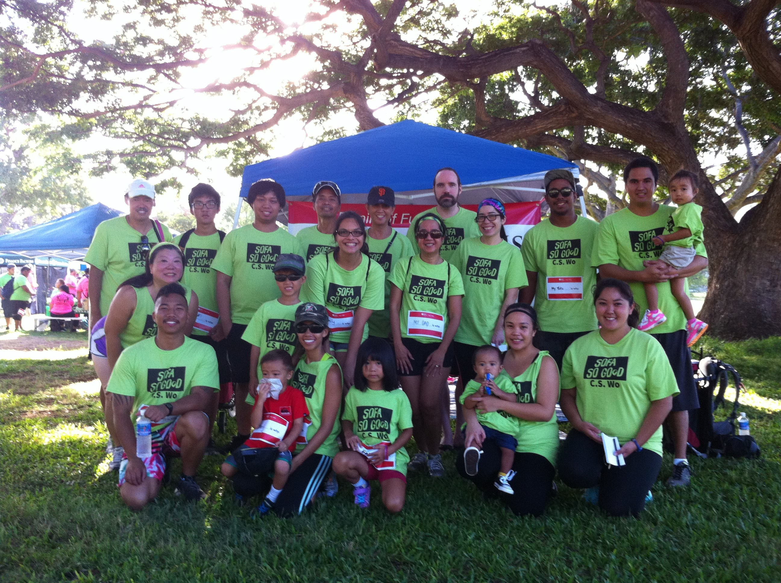 American Heart Association's Annual Honolulu Heart Walk