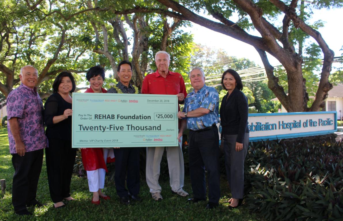 REHAB Foundatino Donation