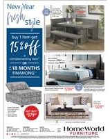 Buy 1 item get 15% off a complementing item or ask about up to 18 months financing; see store for details