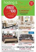 Free $100 gift card with minimum purchase; 12 months financing available. See store for details.