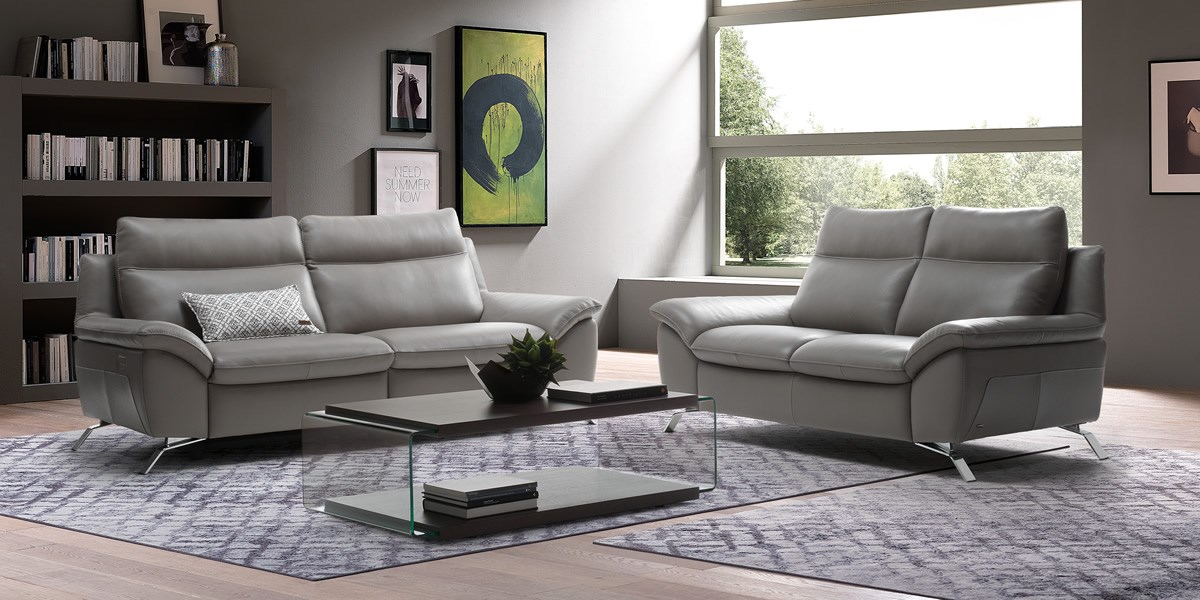 Superbe Natuzzi Leather Sofa ...