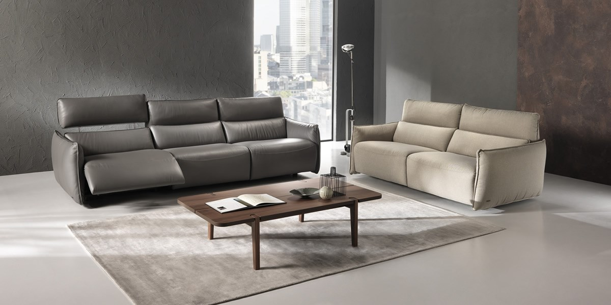 Natuzzi Leather Sofa