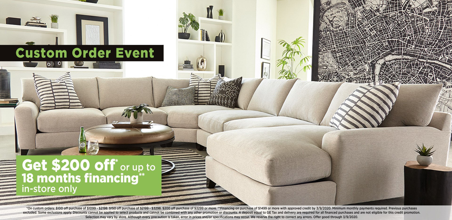 Get $200 off or up to 18 months financing; see store for details