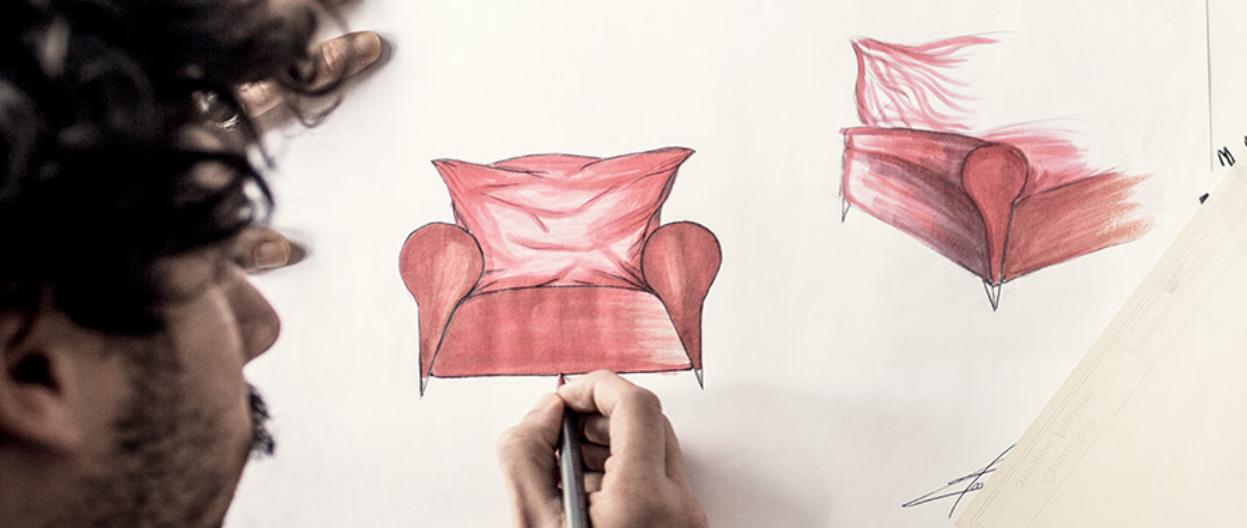 Natuzzi Editions Design Drawing