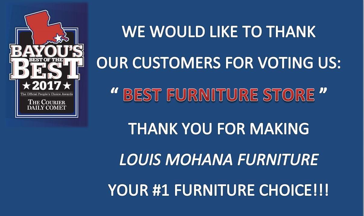 Louis Mohana Furniture   Houma, Thibodaux, New Orleans, Bourg ...