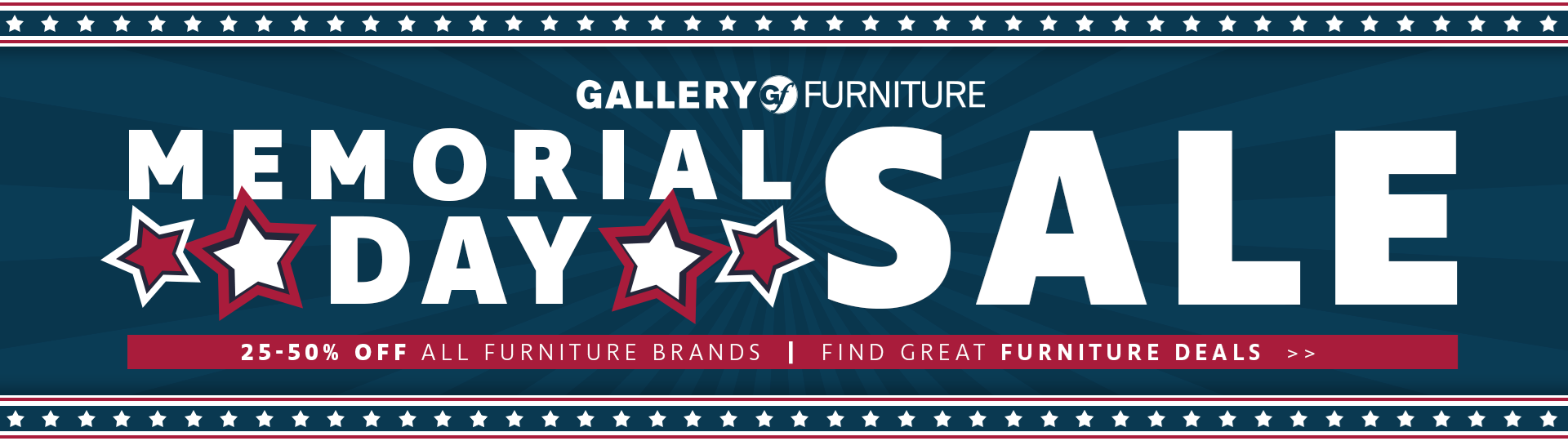 HUGE DEALS during our Memorial Day Sale!