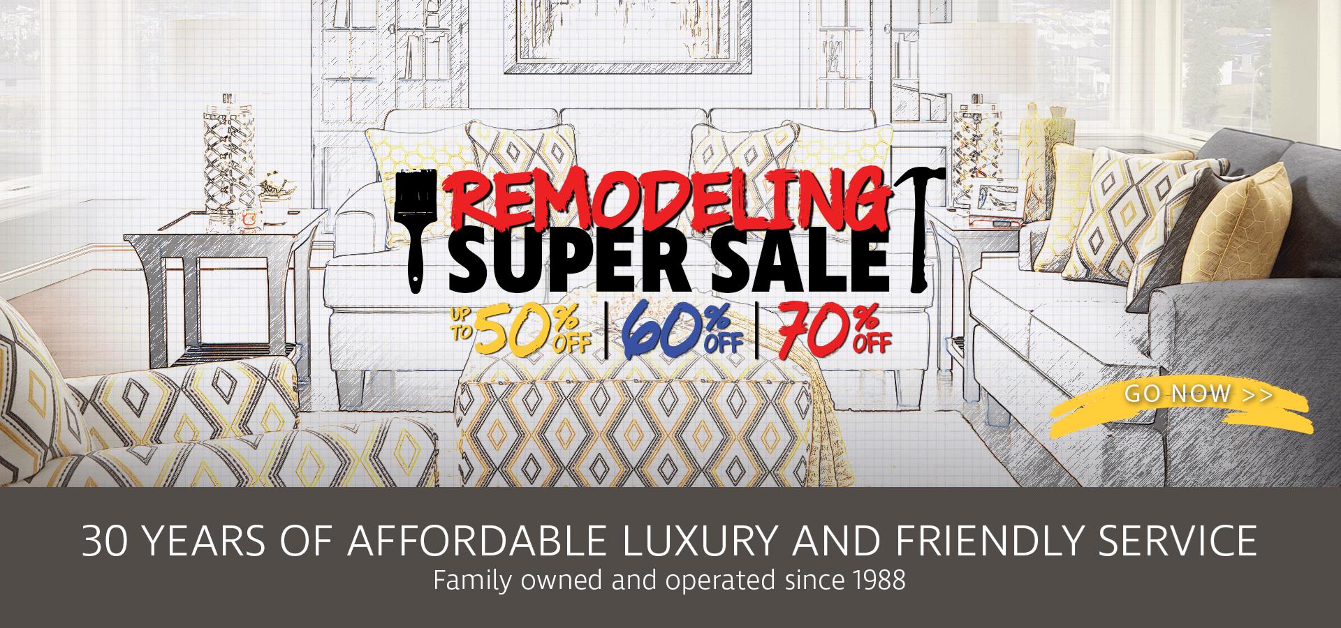 Remodeling Super Sale