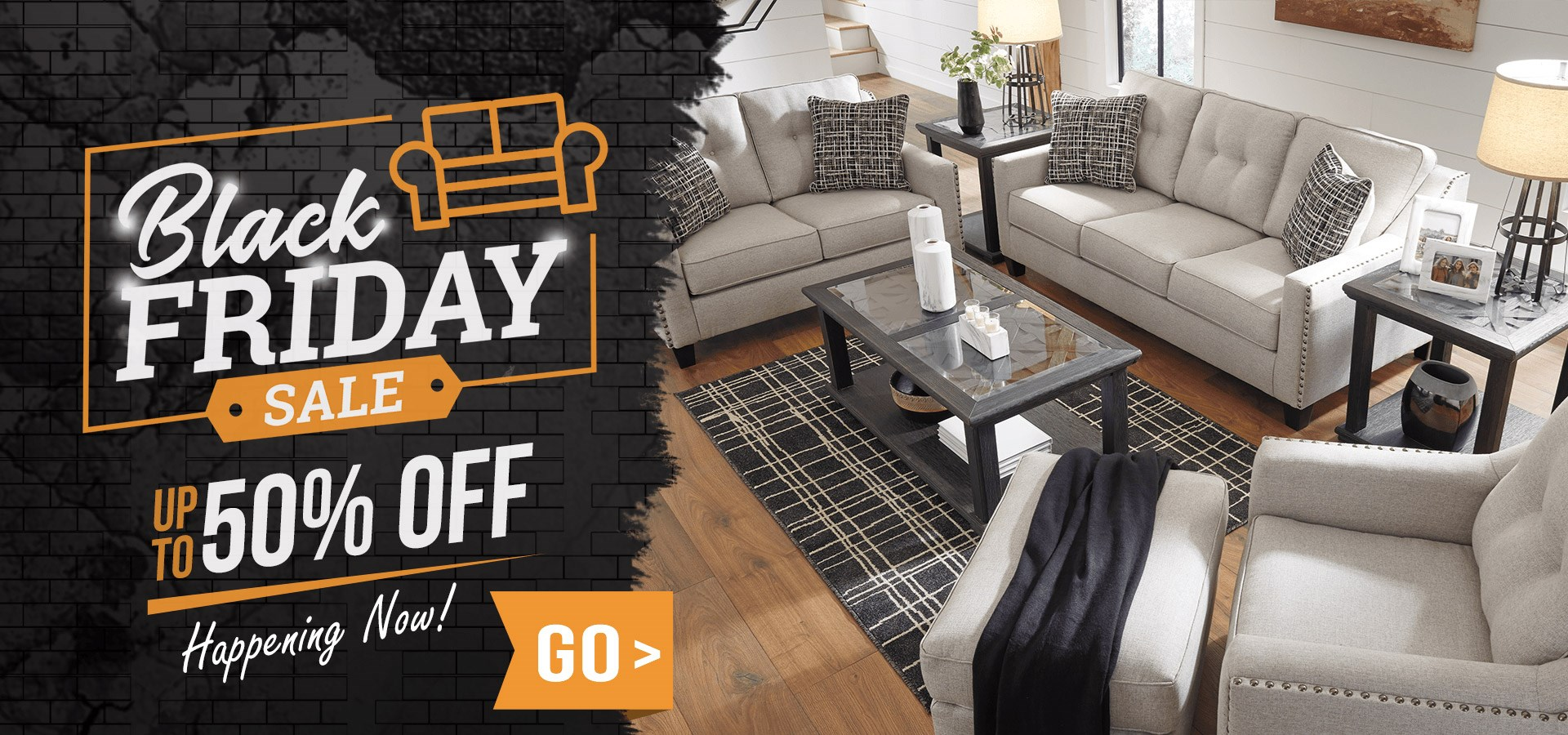 Black Friday Furniture Sale - Up To 50% OFF Storewide