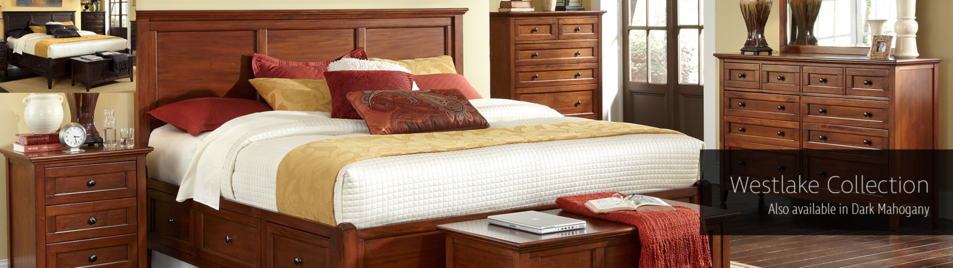 A America Westlake Bedroom Collection