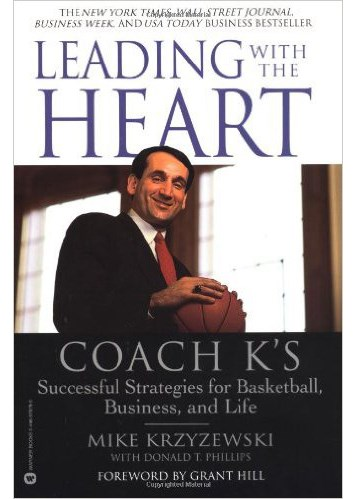LEADING WITH THE HEART Book Cover