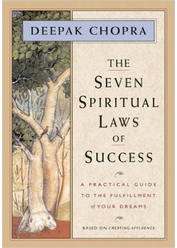 THE SEVEN SPIRITUAL LAWS OF SUCCESS Book Cover