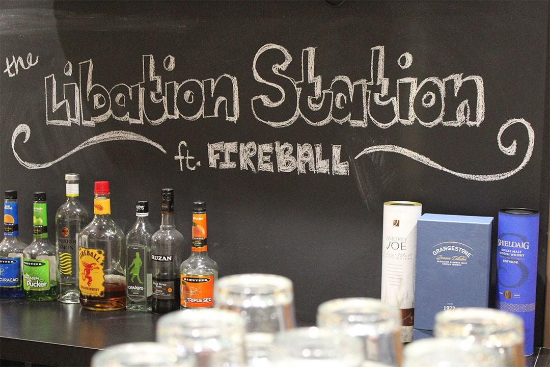 Merch Fest Libation Station