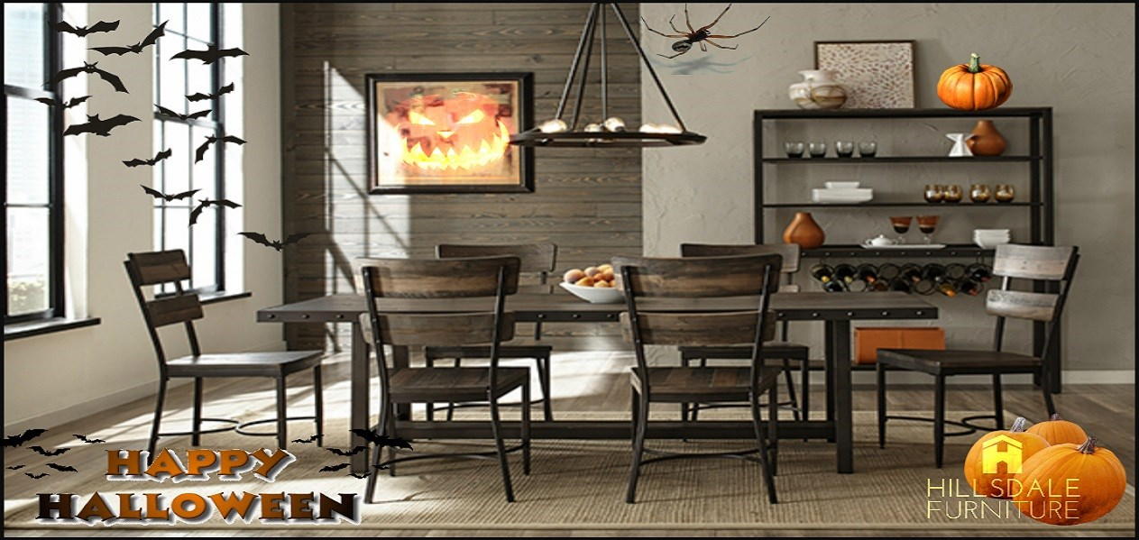 Hillsdale Jennings Table & Chairs Halloween