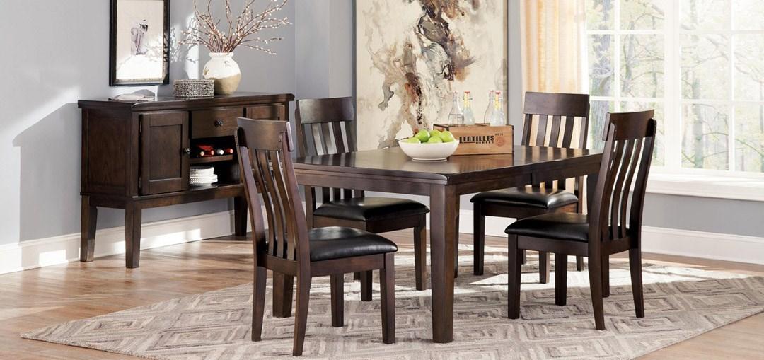 signature design dining room