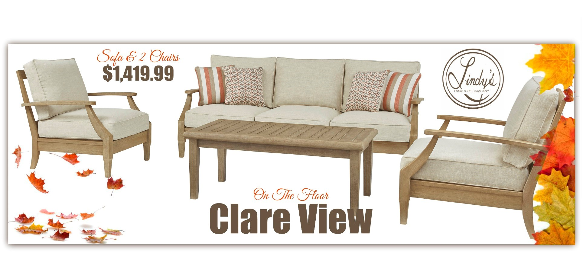 Clare View- Sofa 2ch- FALL
