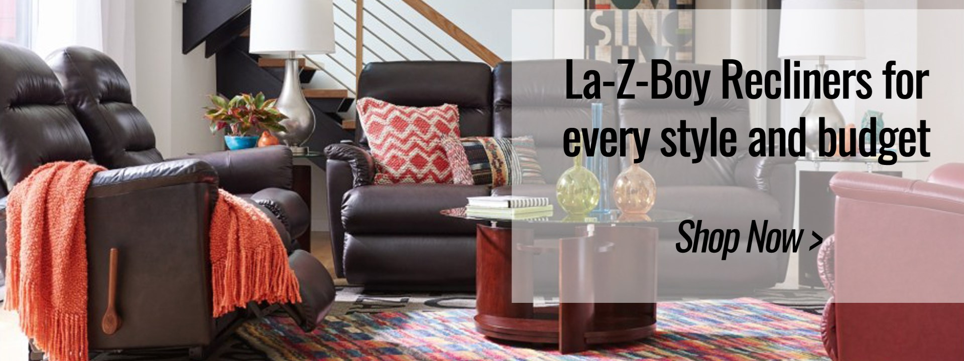 La Z Boy Recliners For Every Style And Budget Now Tempur Pedic Ashley Furniture