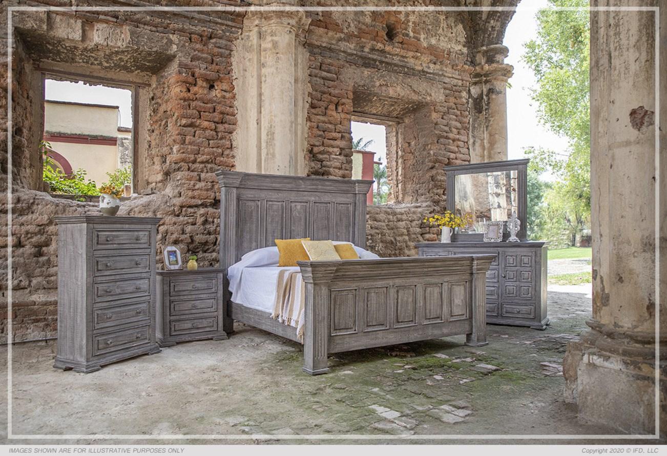 IFD Bedroom set solid wood