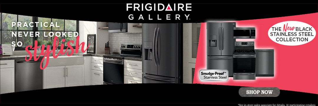 Frigidaire Black Stainless Steel Collection