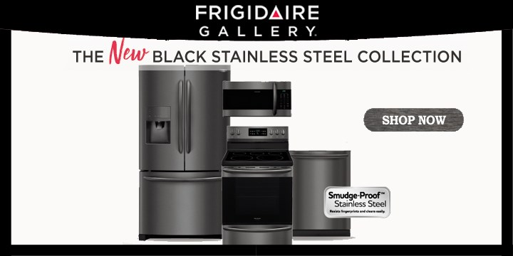 Frigidaire Black Stainless Steel Collection Furniture