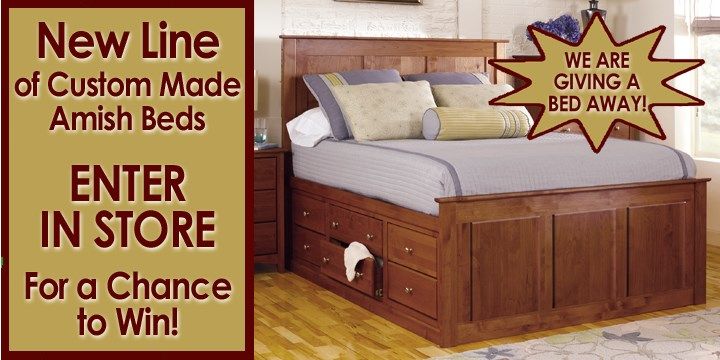 Save On Sealy Mattresses We Are Giving Away A Custom Amish Bed
