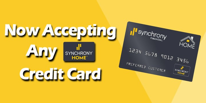 Spring 4 Days Only Now Accepting Any Synchrony Home Credit Card