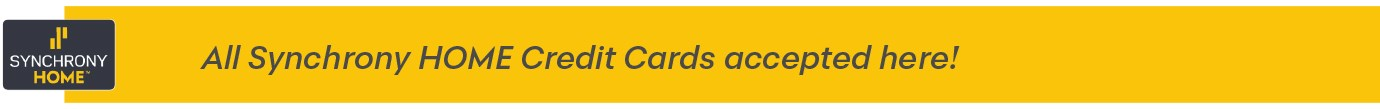Synchrony Home Cards Accepted Here
