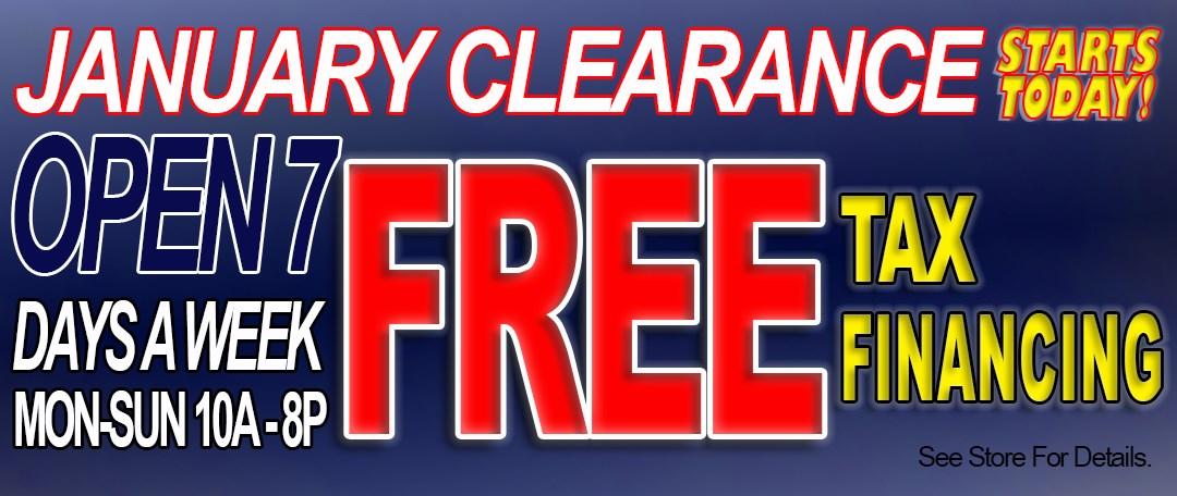Jan Clearance