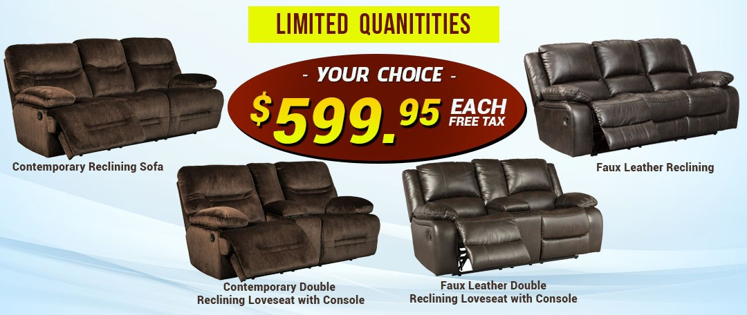 Reclining Sofa Special