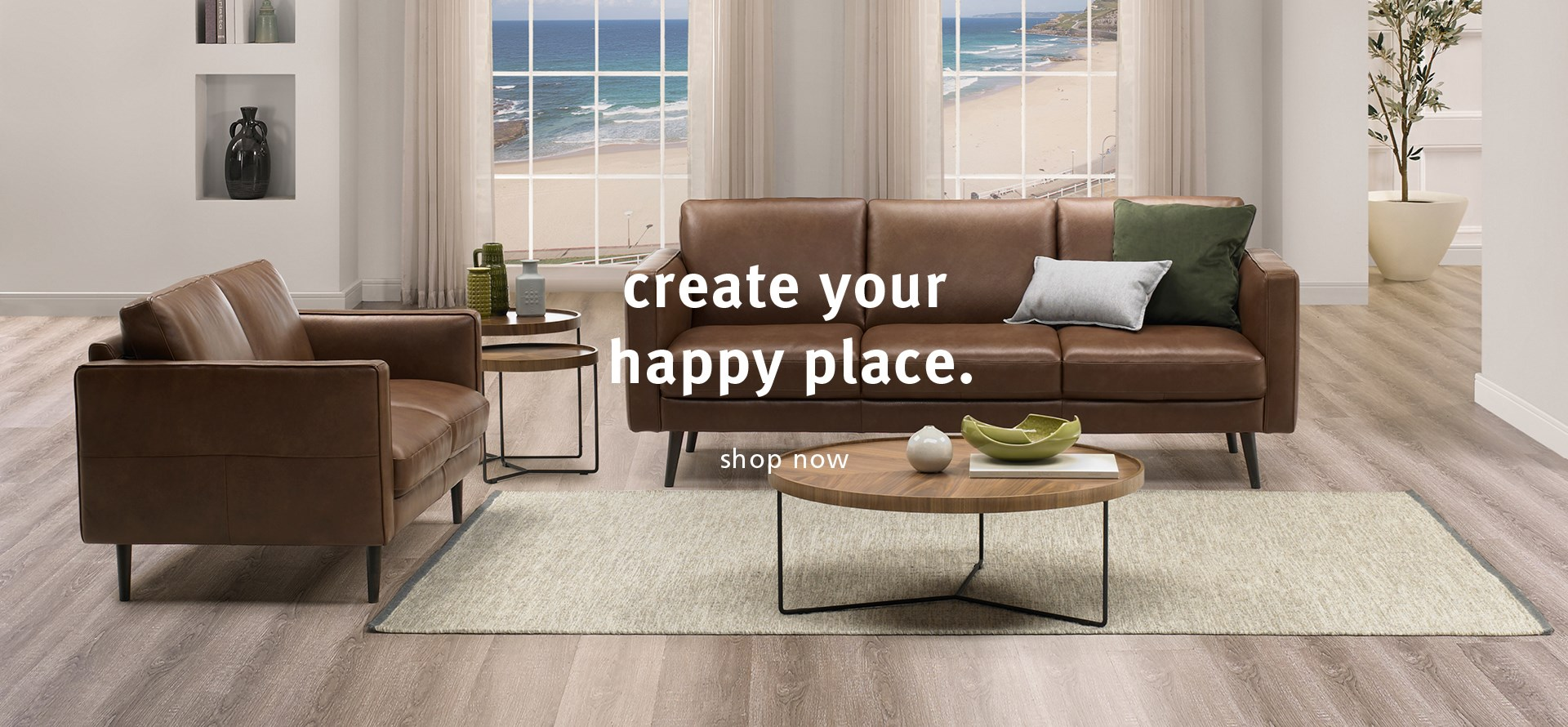 Create Your Happy Place. Shop Now.