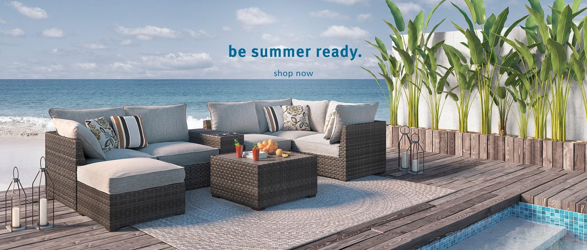 Be Summer Ready. Shop Outdoor.