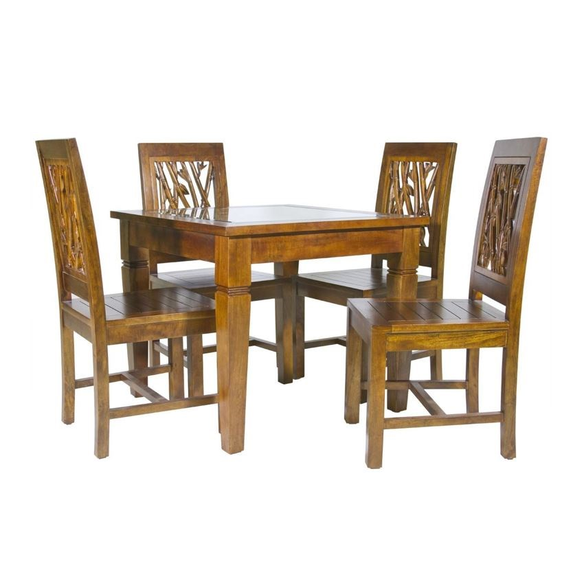 foliage dining set