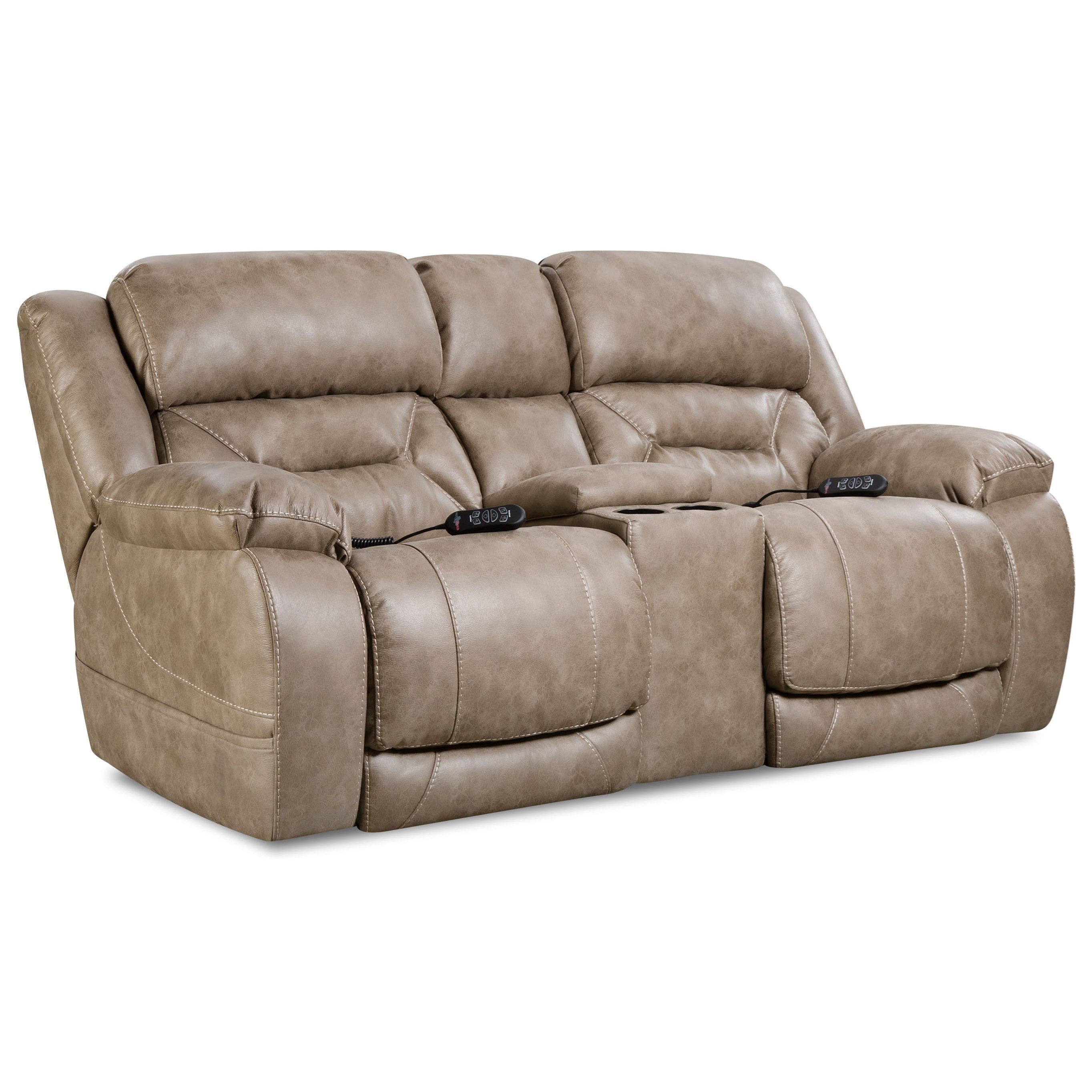 Enterprise Power Reclining Loveseat