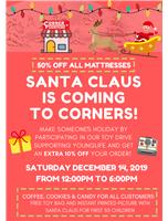 Santa come to Corner furniture!!