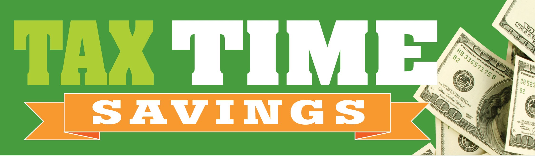 Click For Big Tax Time Savings!