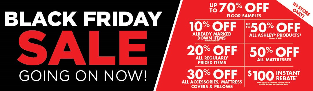 Black Friday Going On Now!