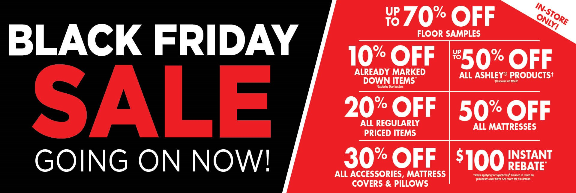 Black Friday Sale Going On Now
