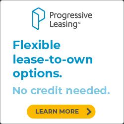 progressive: no credit needed. text corners to 57597