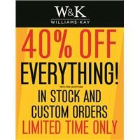 WK 40% Off Everything