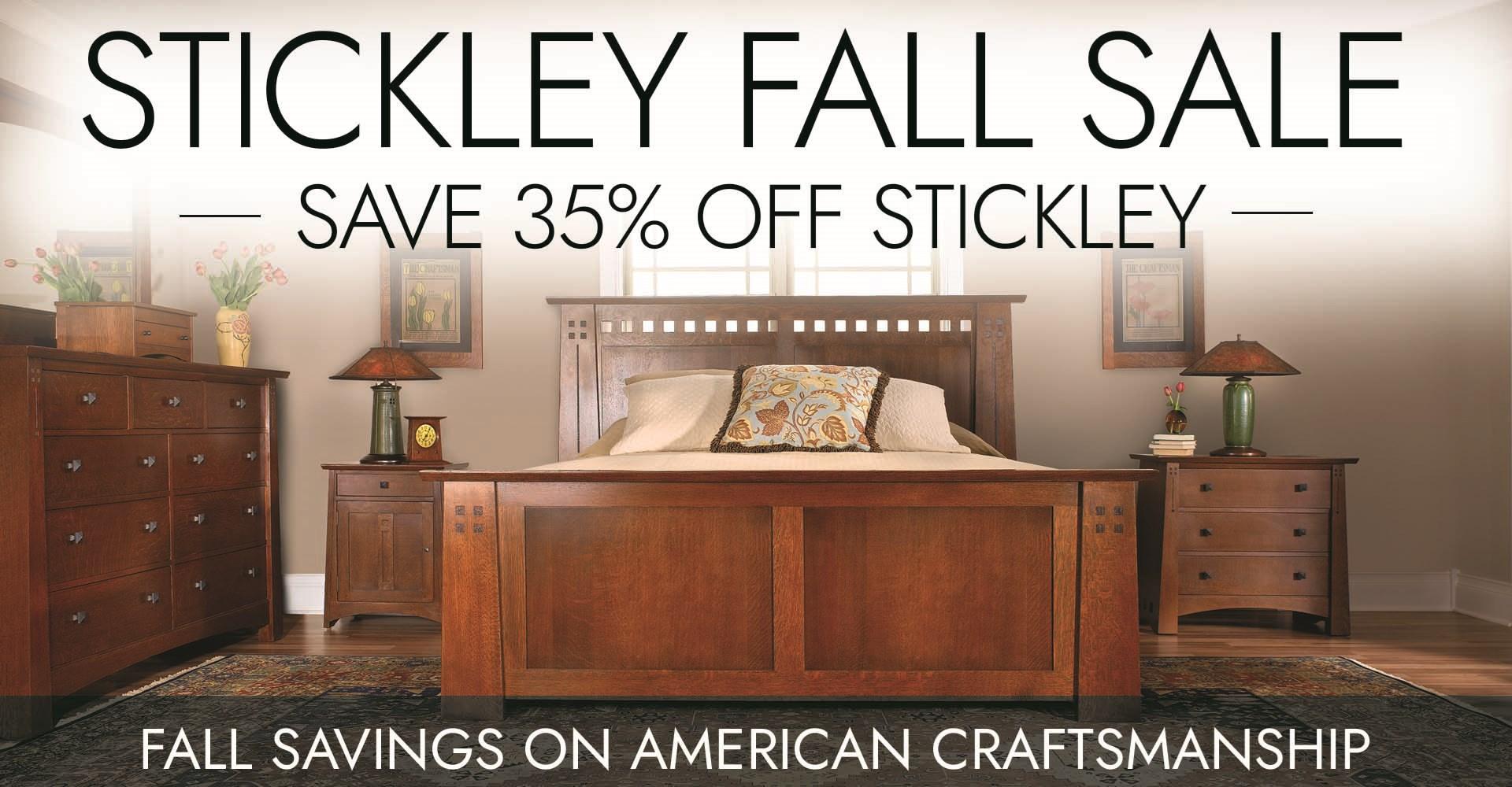 Stickley Fall Sale