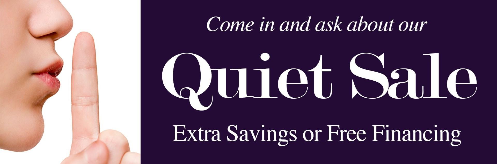 Quiet Sale