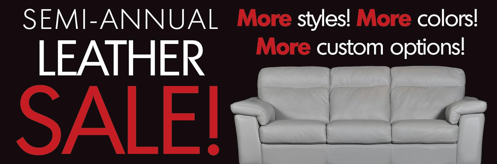 Semi Annual Leather Sale
