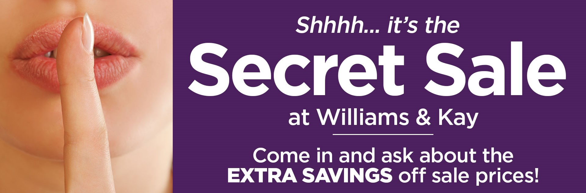 WK Secret Sale