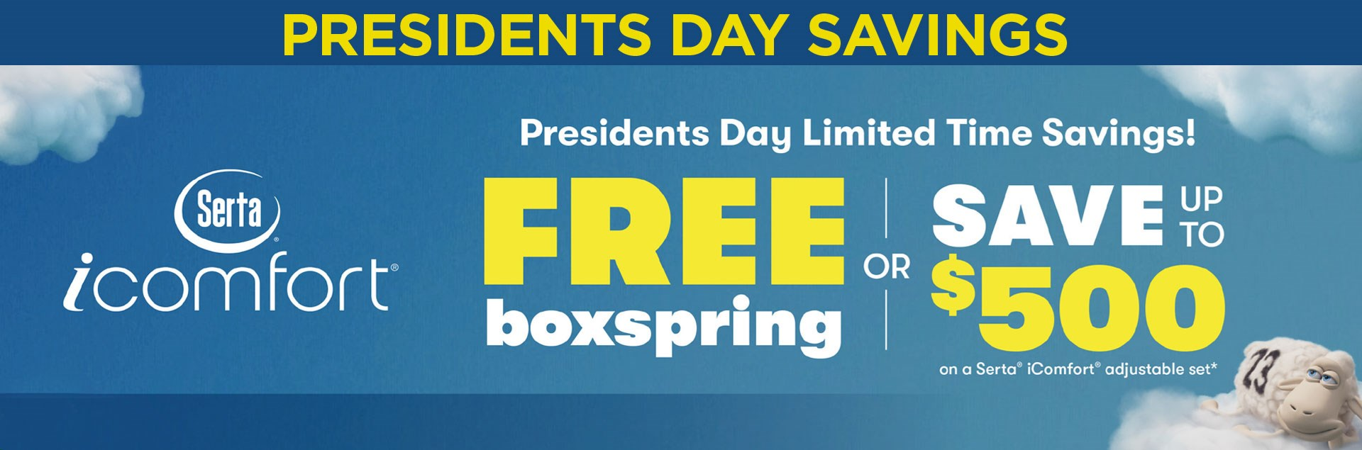 Ultimate Mattress Presidents Day Sale