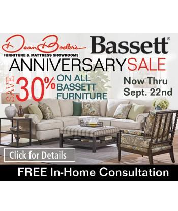 Bassett Anniversary Sale