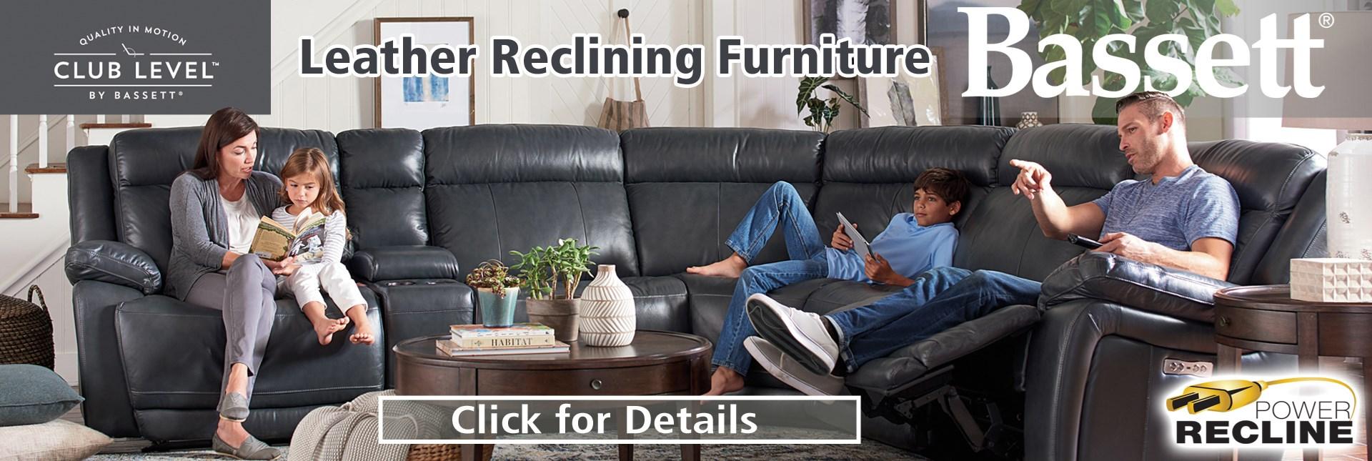 Bassett reclining furniture
