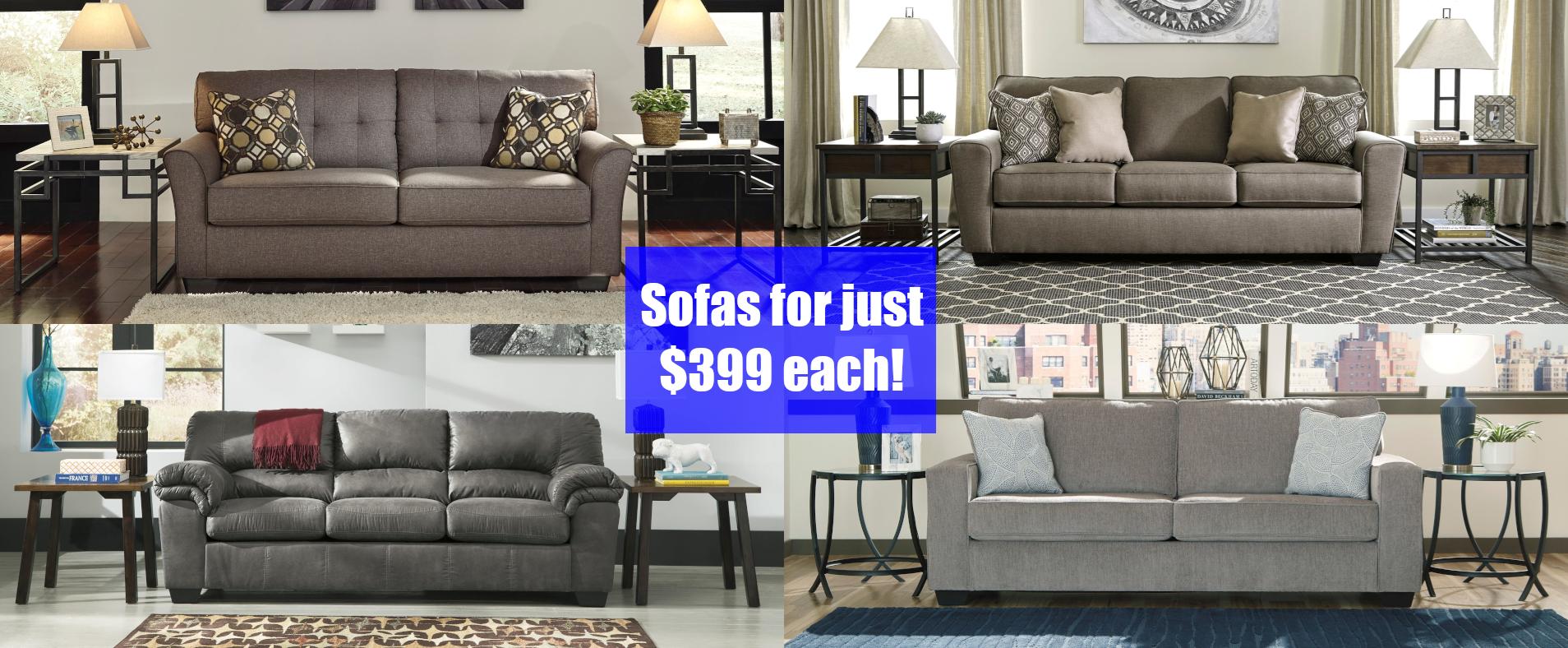 Sofas for $399 2