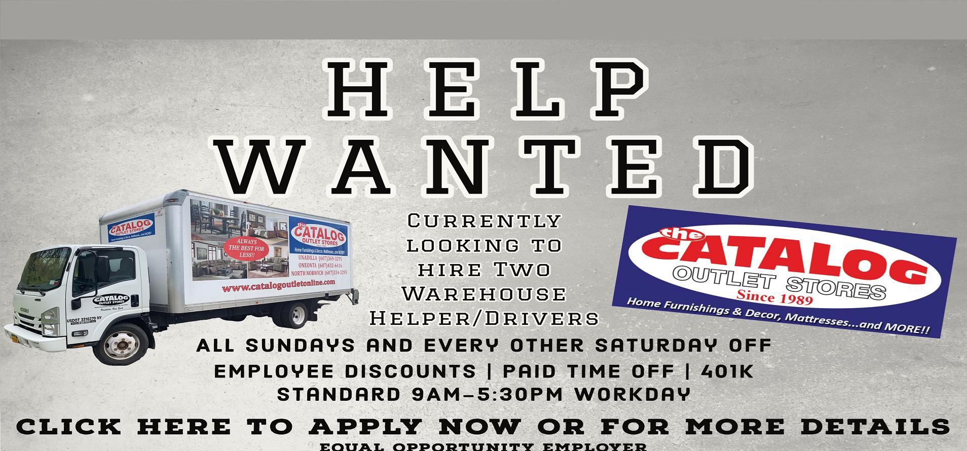 Hiring Warehouse