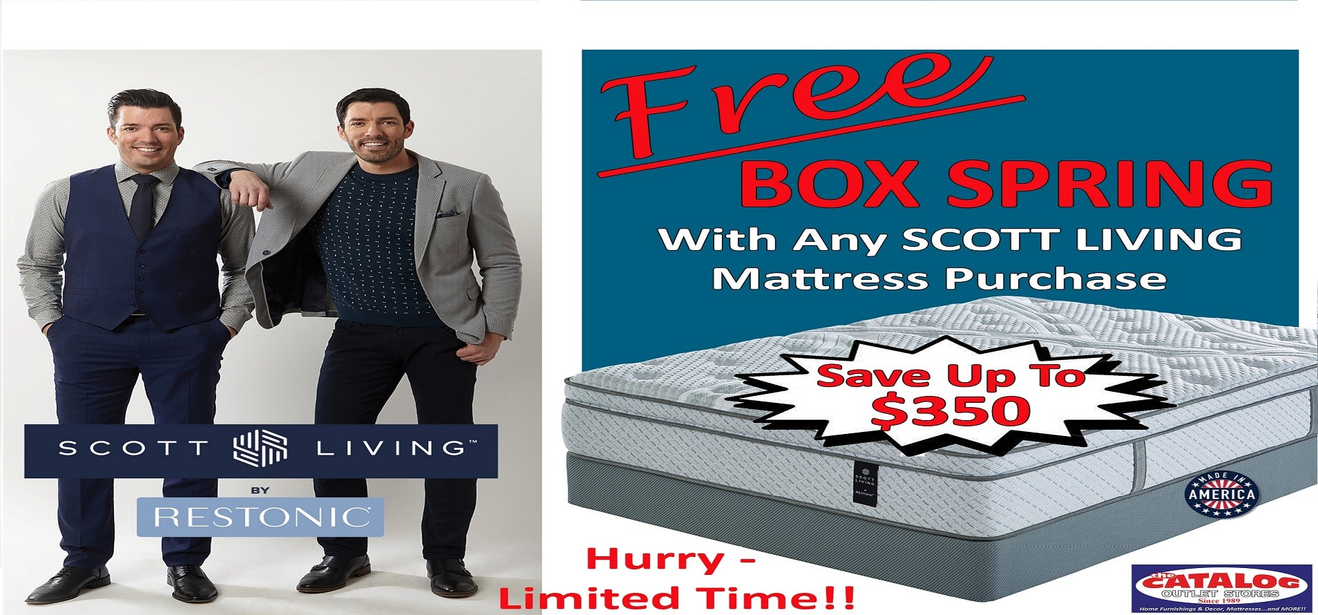 Free Box Spring With Scott Living Purchase