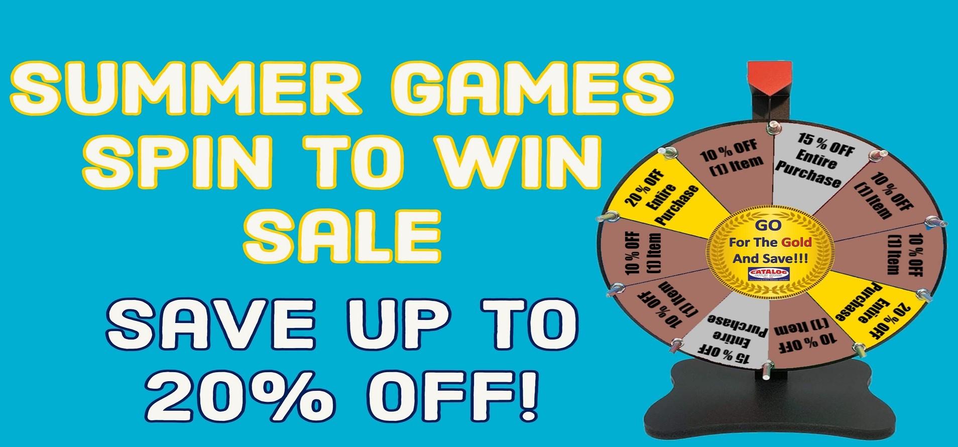 Summer Games Sale